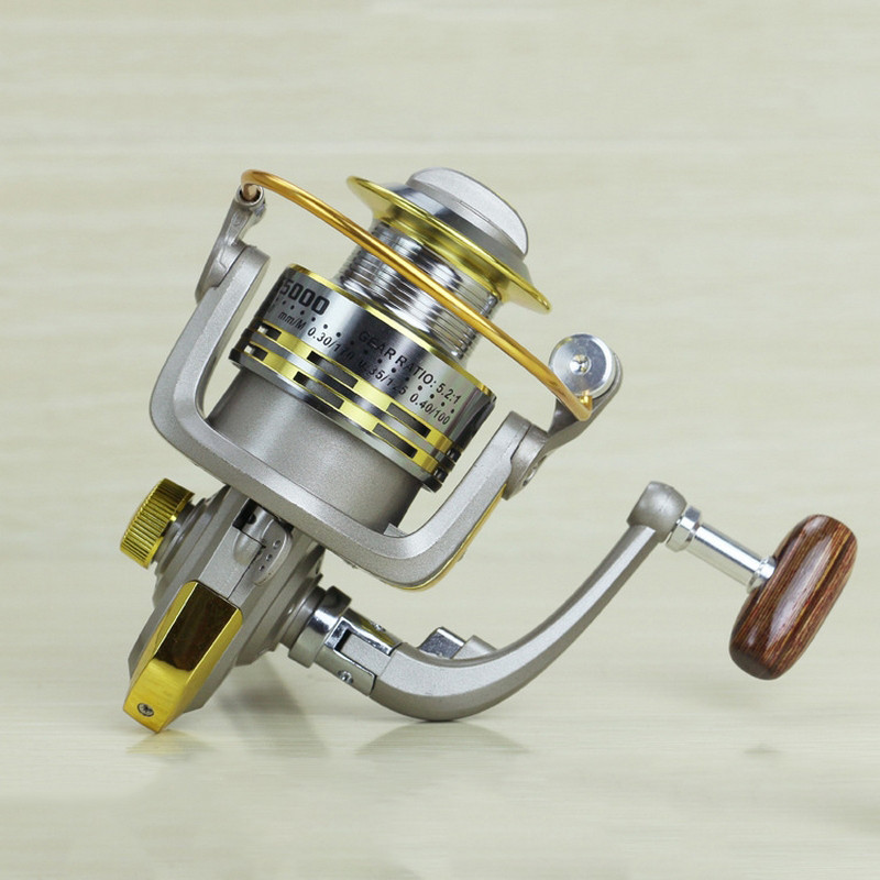 Metal Fishing Reel 8 Bearing Balls Fishing Spinneret 5.11 1000-7000 Series Fishing Line Wheel Gear Tackles GS1000-7000 (1)