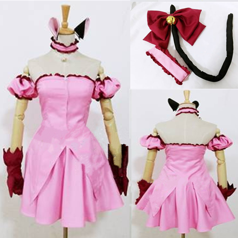 Tokyo Mew Mew Ichigo Momomiya Cosplay Costume Custom Made Transfiguration