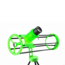 Visionking VS76300 New Space Telescope Compact Astronomy Telescope Gift For Student/Child Astronomical Telescope Bright Green(China)