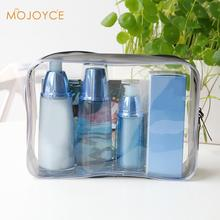Waterproof Environmental Protection PVC Transparent Cosmetic Bag Women Travel Make up Toiletry Bags Makeup Organizer Case