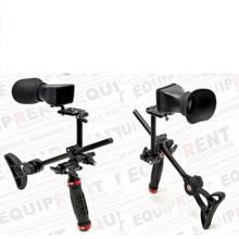 SUNRISE A7S Cheap Dslr shoulder mount rig steady Video DV camera shoot steadicam stabilizer steadycam support movie kit