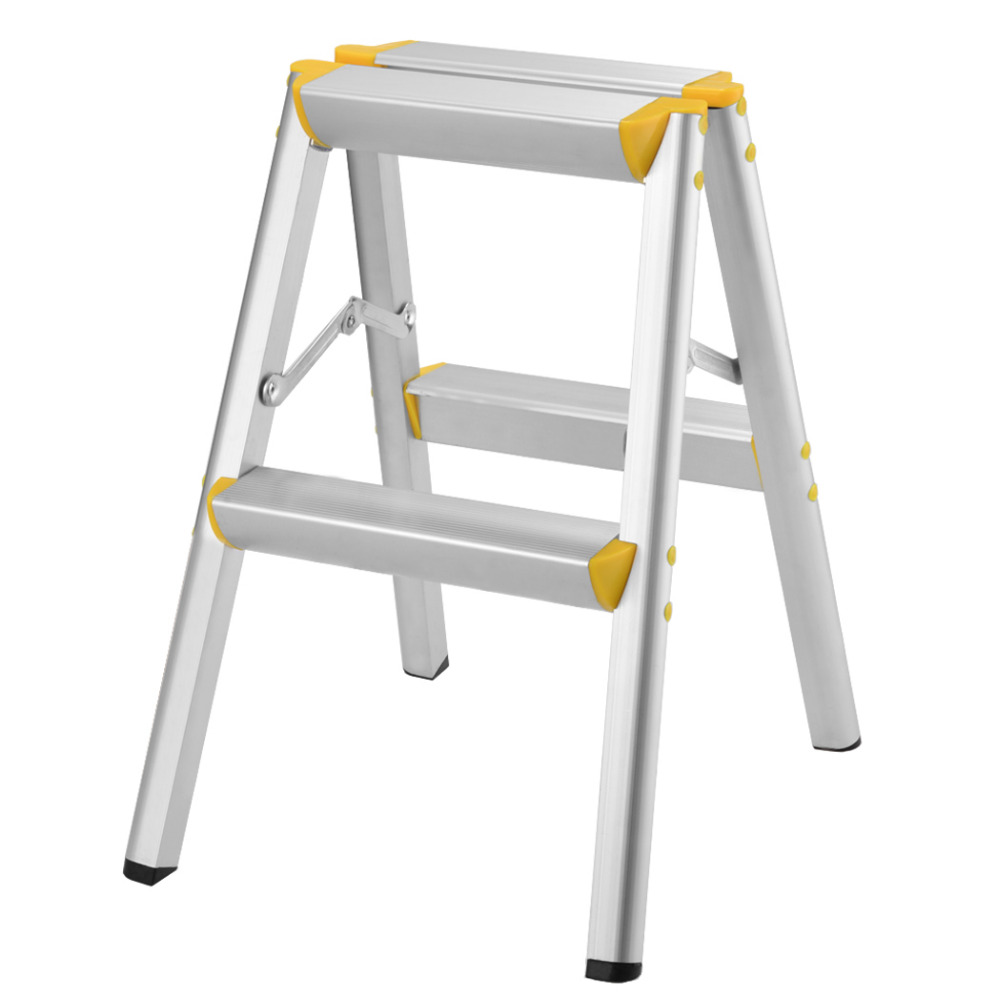 Household Folding Aluminum Alloy Herringbone Ladder Domestic Multi-functional Engineering Step Ladders <br>