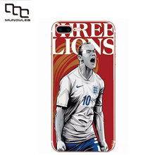 Mundulea Personality painted football Case for iphone 7 plus Ultra thin Slim TPU Clear Cover for iphone 7plus covers Accessories