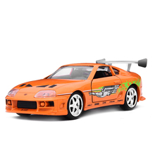 1:32 Scale The Fast and Furious SUPRA Car Model Metal Alloy DiecastsToy Vehicles Model Miniature Model Toy Car For Kids Gifts(China)