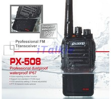 PUXING PX-558 (PX-508) IP67 Waterproof Radio, Dustproof Two Way Radio professional Walkie Talkie PX558 PX508 Transceiver