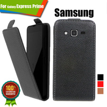 WholeSale price,Customed 100% Special Luxury PU Leather Flip Case For Samsung Galaxy Express Prime,free gift