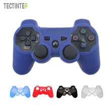 Silicone Proctective Flexible Gel Rubber Skin Case Cover For Sony PS3 Controller for Playstation3 Joystick Gamepad(China)