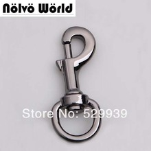 Gun metal snap hook 20mm(3/4 inch inside) high quality metal zinc die casting hardware for bags hooks,drop shipping