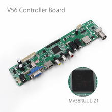MV56RUUL-Z1 V56 Universal LCD TV Controller Driver Board TV/PC/VGA/HDMI/USB Interface USB play Multi-Media InsteadV29 Only Board(China)