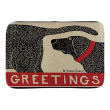 Animals Welcome Door Mats Greetings Whom The Dog Barks Indoor/Outdoor Doormat Soft Lightness Short Plush Fabric Bathroom Mats