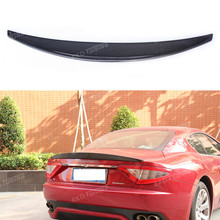 For Maserati Gran Turismo GT Carbon Fiber Rear Spoiler Trunk Wing 2007 - UP(China)