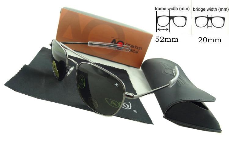 High Quality Mens Driving Glasses Women Brand Designer Sunglasses Retro Vintage Military Eyewear Oculos De Sol AO52<br><br>Aliexpress