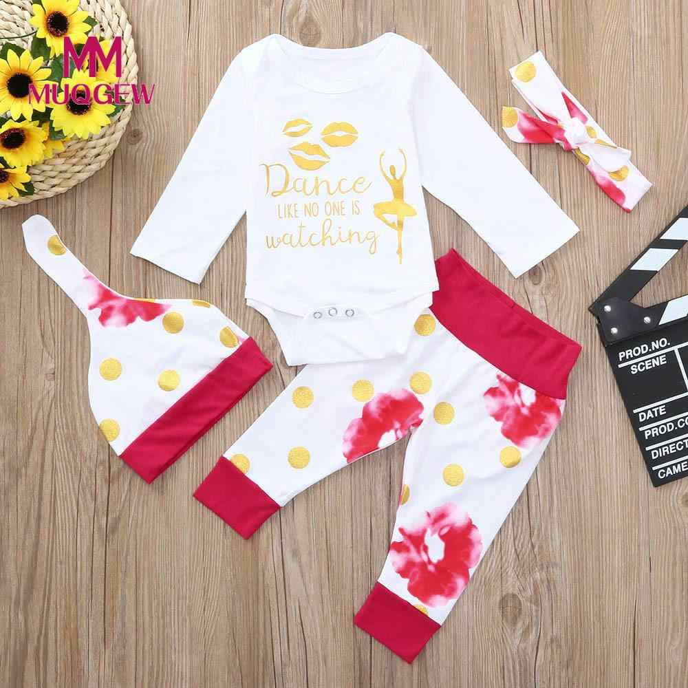 d7a7654f134b Detail Feedback Questions about MUQGEW 2018 Baby Clothing Sets Autumn Baby  Boys Clothes Infant Baby Letter Print Romper Headband Pants Hat 4 Pcs Outfits  Set ...