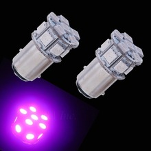 4PCS 1157 2357 S25 Bay15D 20SMD 5050 Brightest LED For Car Truck Scooter Use Purple