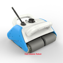 2018 Newest Intelligent Pool Cleaner Swimming Pool cleaning with Floating Recharged Battery,15m Cable,Wall Cleaning Function(China)