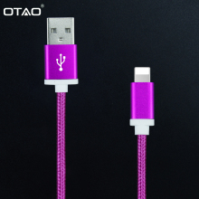 Mobile Phone Cables USB Data Charger Cable Lighting Cable Android Fast Charger Adapter USB Cable for iPhone iPad for Samsung