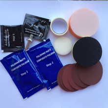 Headlamp Brightener Kit DIY headlight restoration for car head lamp lenses Deep Clean head light Polish paste compuesto pulidor