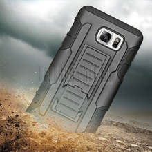 Heavy Duty Hybrid Armor Impact Case +Holster With Belt Clip Tough Cover For Samsung Galaxy Note 2/Note 3/Note 4/Note 5(China)