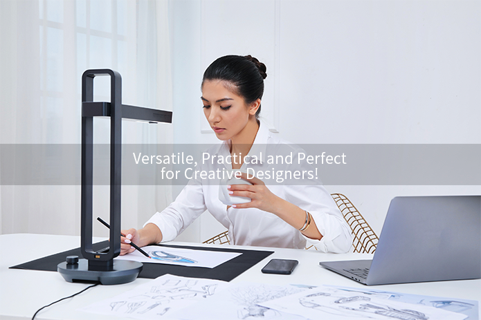 Aura 14MP Smart Book & Document Scanner with AI Technology for 187 Languages OCR Supported Innovative Glare-free Lamp Free APP_12