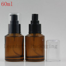 60ml Brown Glass Spray Bottle,Makeup Setting Spray,DIY Cosmetic Containers And Packaging,Refillable Perfume Bottle,Wholesale