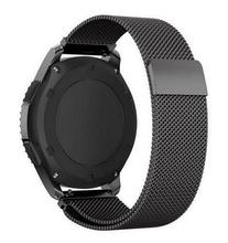 22MM Magnetic Milanese Loop For Samsung Gear S3 Frontier Band Bracelet Strap Stainless Steel Band For Gear S3 Classic Frontier