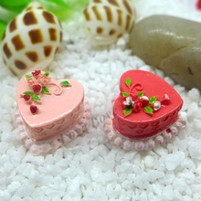 20*11mm Free Shipping!  Resin Flower cake,Resin Cabochons for Phone Decoration, DIY,Simulation food