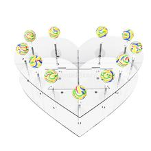 15 Holes Acrylic Cake Pop Lollipop Cupcake Display Stand