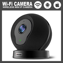 Home security intelligent web camera HD 720P wireless application control 110 degrees 32GB for IOS / Android phone