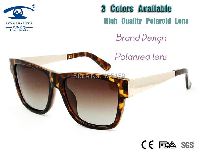 New 3 colors Vintage Sunglasses Polarized Fashion Polaroid Sun Glass Square Shade 100% UV400 oculos masculino Men/Women<br><br>Aliexpress
