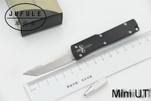 JUFULE 2018 MIni UT Ultratech D2 blade aluminum handle camping survival outdoor EDC hunt Tactical tool dinner kitchen knife