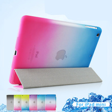 For iPad Air 2 Case MiNi 2 3 Luxury PU Leather Front Flip Cover For iPad 4 Air 1 Smart Tablet Case Magnetic Auto Wake Up / Sleep(China)