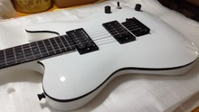 Construction join in pure white fixed bridge double humbucker tl guitars