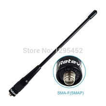 RHD-701 Dual Band SMA-F Antenna VHF/UHF 144/430Mhz For BAOFENG UV-5R/BF-888S RETEVIS H777/RT6/RT-5R Yaesu Ham Radio(China)