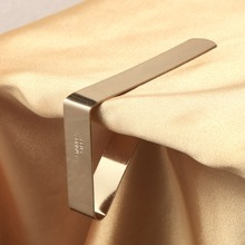 Useful Stainless Steel Tablecloth Clips Tables Cloth Clamps Holder Home Wedding Party Picnic Wedding Desk Cloth Clips