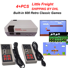 Mini HDMI AV OUT Built-in 600 Retro Classic Games Double Handle TV Game Console Family Entertainment System Series PAL & NTSC(China)