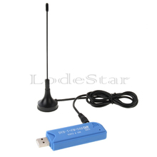 New Mini TV Dongle Stick Digital DVB-T Sattlite receiver Mini USB 2.0 TV Stick for PC Notebook Support FM DAB 820T2 SDR