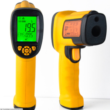 1PC AS882 Non-contact Laser Lcd Display Digital IR infrared thermometer Temperature Meter Gun Point -18~1650 Degree Wholesale(China)