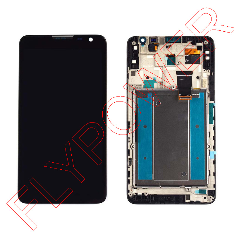 for HUAWEI Mate 2 MT2-C00 MT2 lcd screen display+ Black touch screen digitizer +frame assembly by free shipping;<br><br>Aliexpress