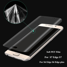 3D Curved Full Cover For Samsung Galaxy S7 Edge S7 S6 Edge plus Case For Galaxy S8 S7 Edge Soft PET Screen Protector Film