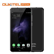 "Official Oukitel K4000 Plus Android 6.0 Mobile Phone MT6737 Quad Core 1.3GHz 2G RAM 16G ROM 5.0"" 4100mAh Fingerprint Smartphone"