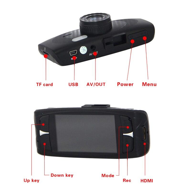 Full HD1080P G1WH 2.7 LCD Car Dash DVR Camera Recorder G-sensor HDMI Novatak 96650<br><br>Aliexpress