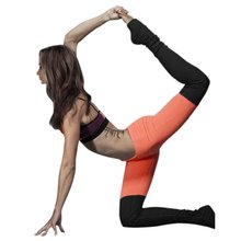Women Sport Pants Exercise Tights Female Sports Patchwork Elastic Workout Yoga Fitness Running Slim Leggings