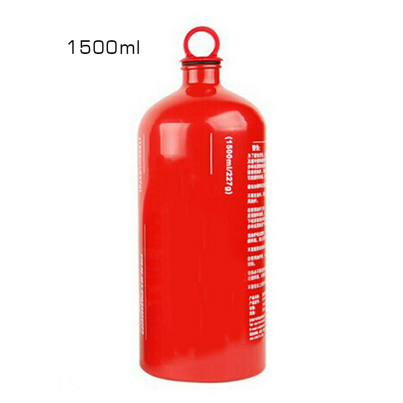 Premium Camping Fuel Bottle Outdoor 1500ml Gas Oil Holder Gasoline Container