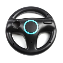 Kart Racing Game Steering Wheel Controller For Nintendo Wii Accessories 6 Colors(China)