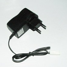 9.6V 400mA EU plug charger small tamiya female connector with full indication For NiMH NiCD battery charging