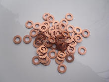 15-7-2 Common rail injector assembly outside mat pure copper gaskets for 1pcs