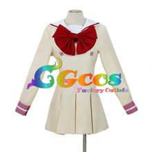 Free Shipping Cosplay Costume Suite PreCure School Uniform I New in Stock Retail / Wholesale Halloween Christmas Party Uniform