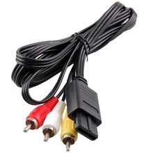 1.8M HDMI Audio Video AV Cable to RCA  Adapter Cables For SONY PlayStation For PS2 For PS3 Multimedia