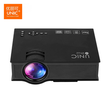 Unic UC46+ Projector Wireless WIFI 1200Lumen 800*480 Full HD LED Video Home Cinema Support Miracast DLNA Airplay Portable Beamer