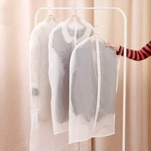 Top Selling Transparent Clothes Dust Cover Closet Organizer Storage Bag Space Saving Dust Cover Clothes Organizer(China)